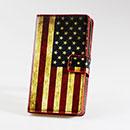 Etui en Cuir Nokia Lumia 925 Le drapeau des Etats-Unis - Mixtes
