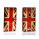 Etui en Cuir Nokia Lumia 925 Le drapeau du Royaume-Uni - Mixtes