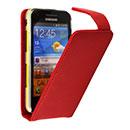 Etui en Cuir Samsung Galaxy Beam GT-i8530 Housse - Rouge