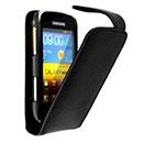 Etui en Cuir Samsung Galaxy Mini 2 S6500 Housse - Noire