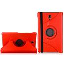 Etui en Cuir Samsung Galaxy Tab S 8.4 T700 Support Porte Housse - Rouge