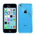 Film Protecteur d'Ecran Apple iPhone 5C Avant et Arriere - Claire